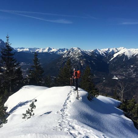Von dicken Beinen, schmerzenden Popos und ganz viel Freude in den Bergen