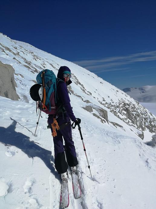 Im Grat zum Gipfel