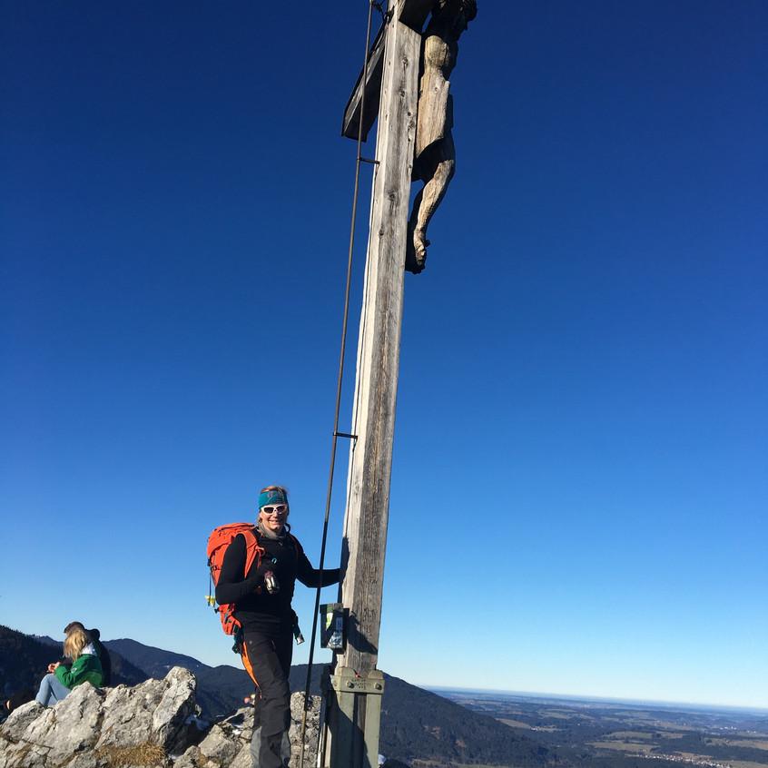 Gipfel Kofel, 1342m