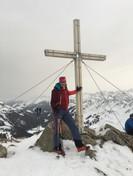 Milla und Manni am Gipfel