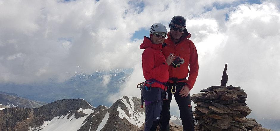 Gipfel Mittlerer Ramolkogel
