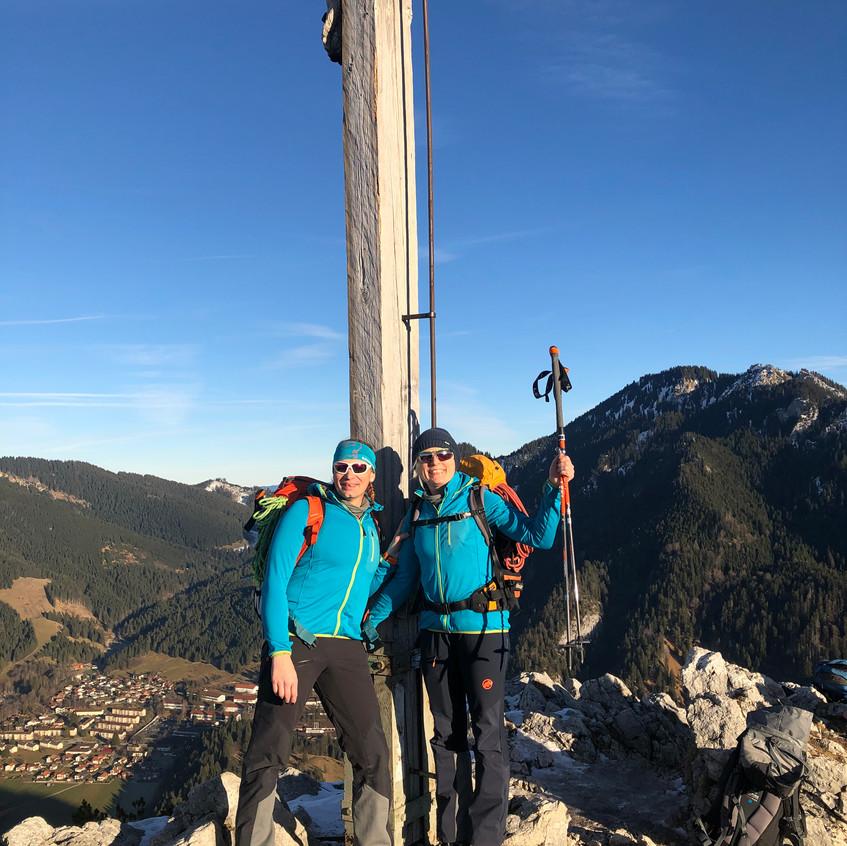 Gipfel Kofel, die Zweite