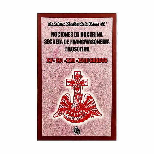 Nociones de Doctrina Secreta 15-18