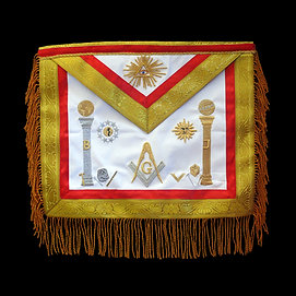 Master Mason Apron Leather