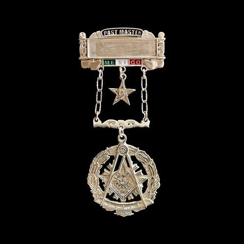 Medalla Plata Past Master