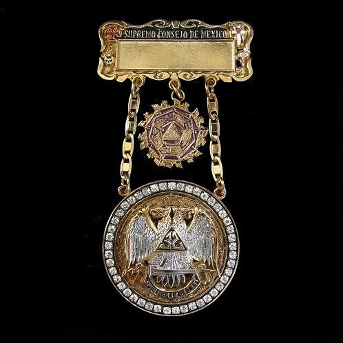 Medalla Past Ilustre Comendador en Jefe