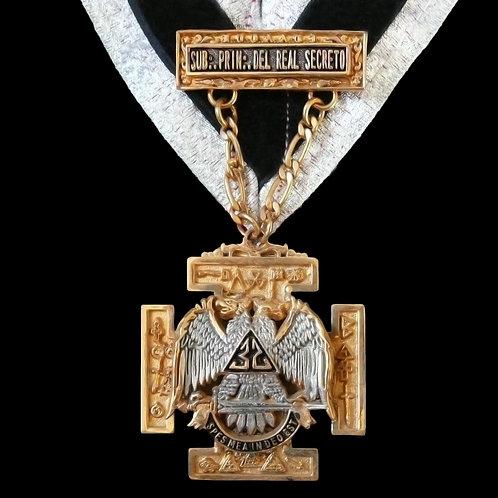 Medalla Sublime Principe del Real Secreto