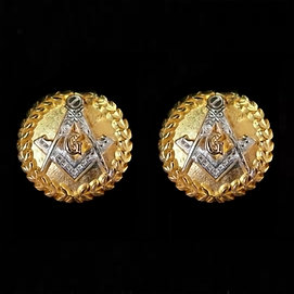 Masonic Cufflinks Freemason