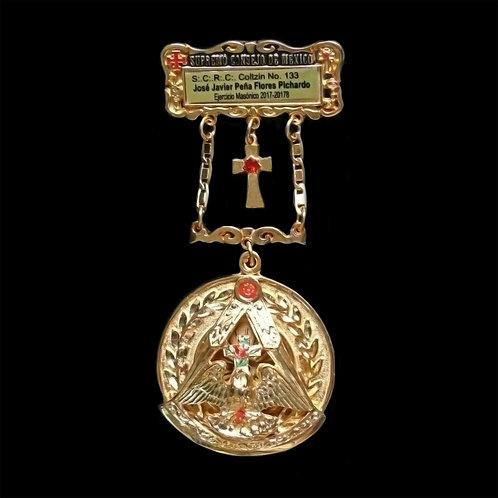 Medalla Past Doctisimo Maestro