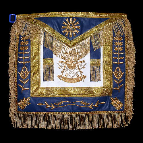Past Master Masonic Leather Apron