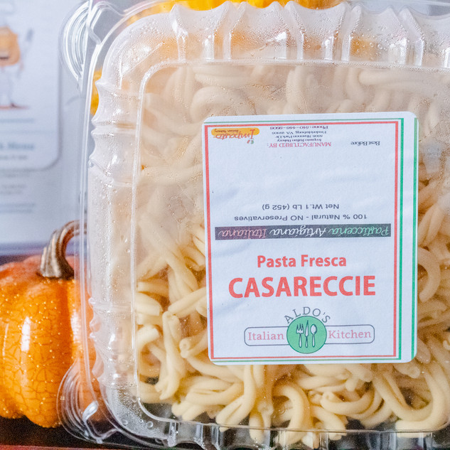 Fresh Casareccie Pasta