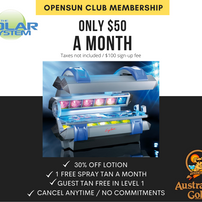 Opensun Club Membership
