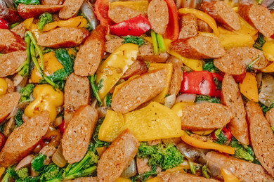 Sausage & Pepper a la Aldo's