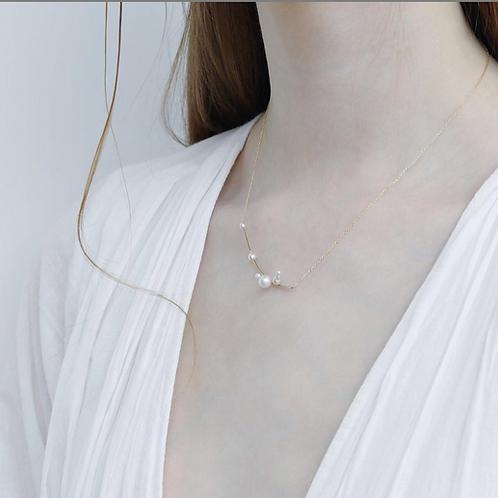 Moi ioM- Kette mit Perlen