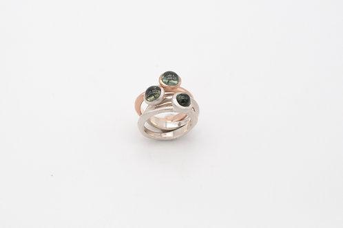 Ring Pepples mit Turmalin