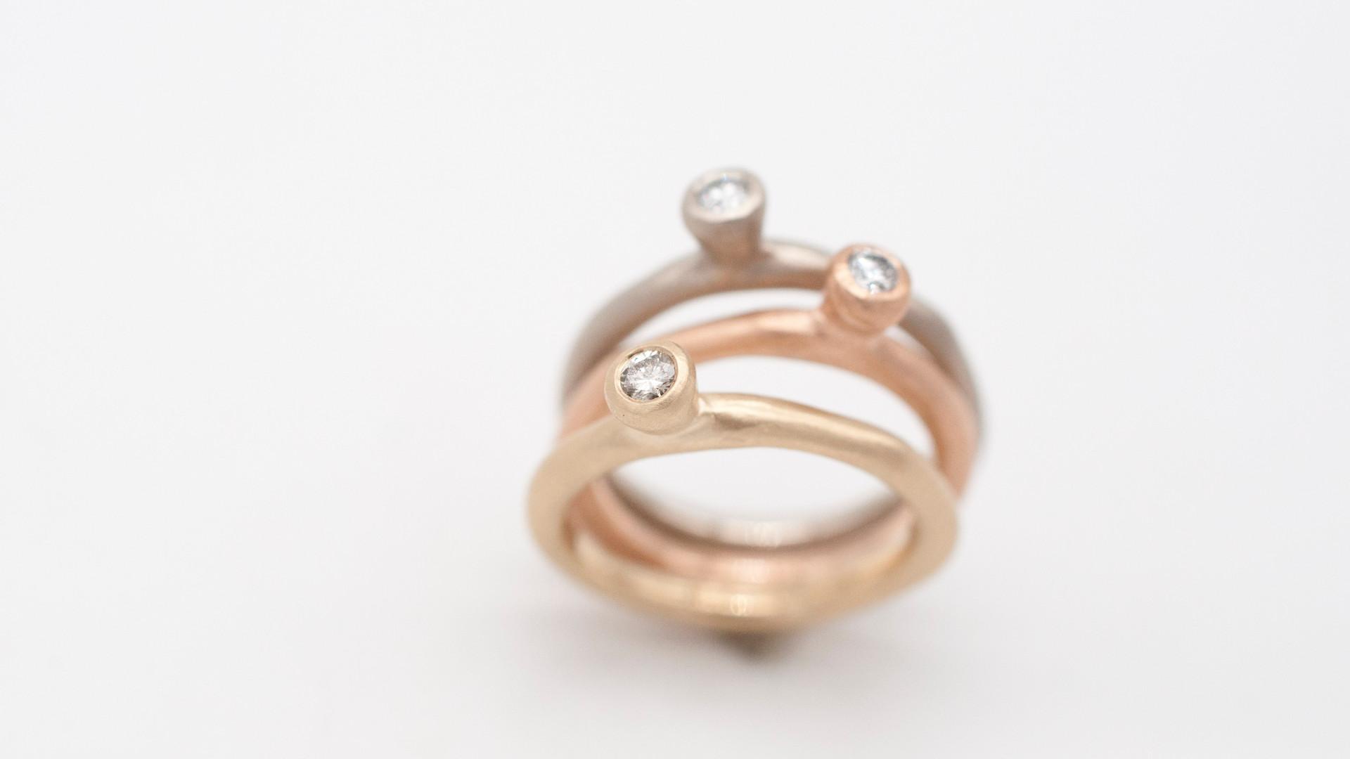 Elisabeth Habigamorph Ring Gold+ Diamant