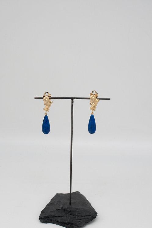 Pebbles Ohrringe mit Lapislazuli