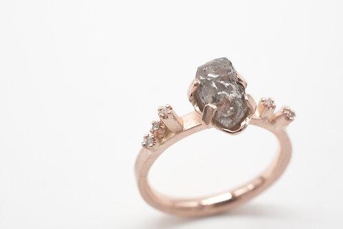 Rohdiamant Ring - Großer Piz Buin