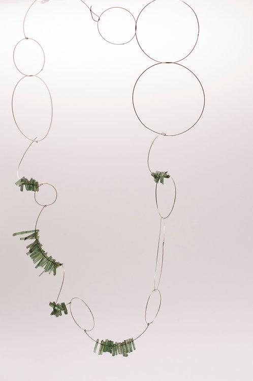 Spiralkette Turmalin  Merry-go-round