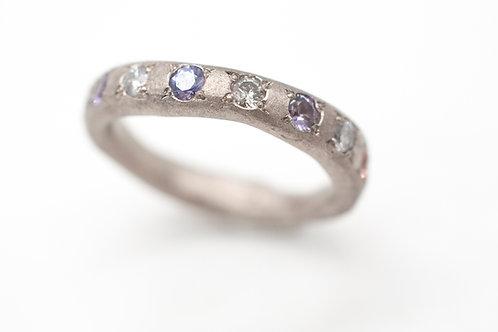 Rosenrot - Fingerprint Memory Ring