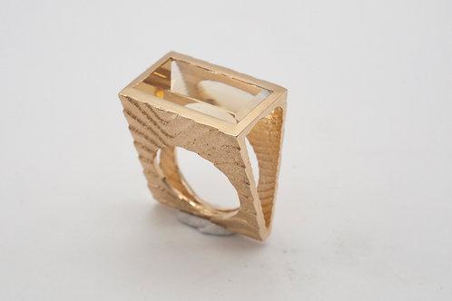 Ossa Sepia Ring mit Beryll