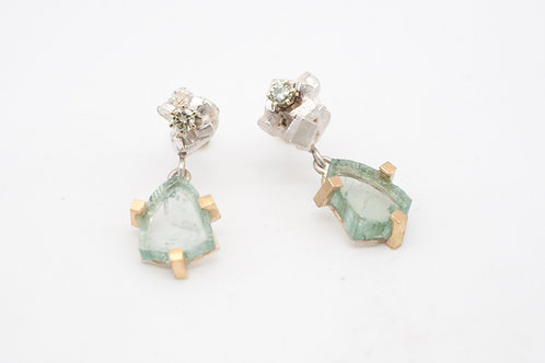 Ohrringe - Green Rocks