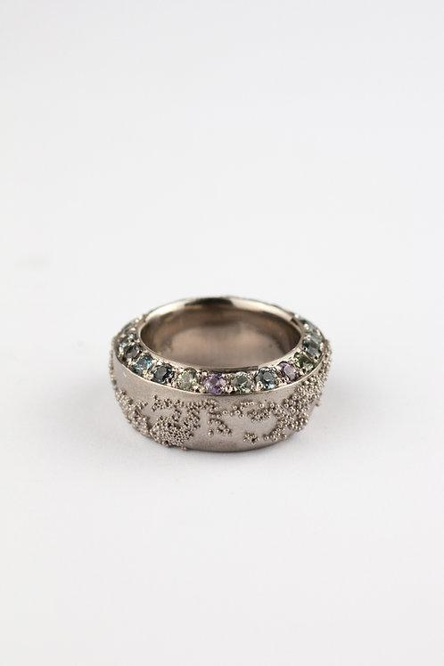 Weltenbummler-Ring Saphir
