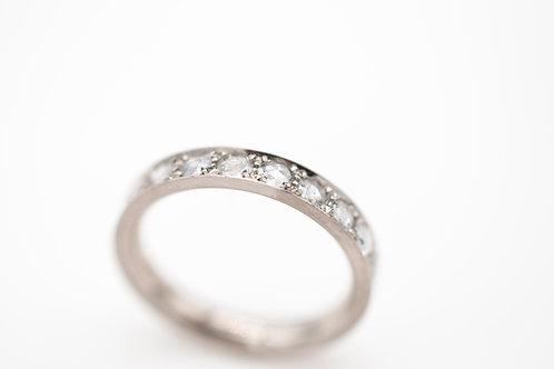 Memoryring mit Rosecut Diamanten