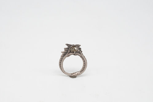 Ossa Sepia Ring - Diamant
