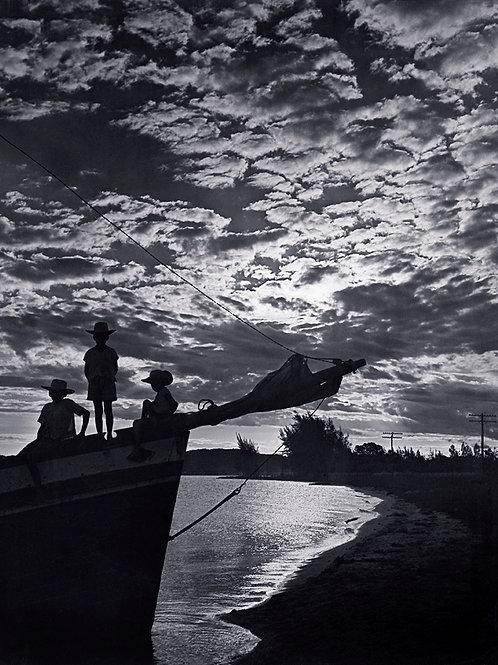Pôr-de-sol em Iguaba Grande