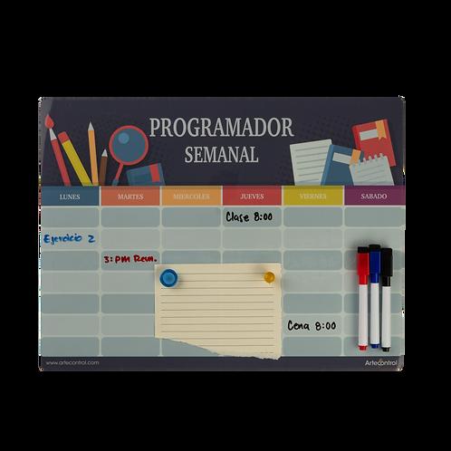 Tablero Magnético Planeador Y Programador