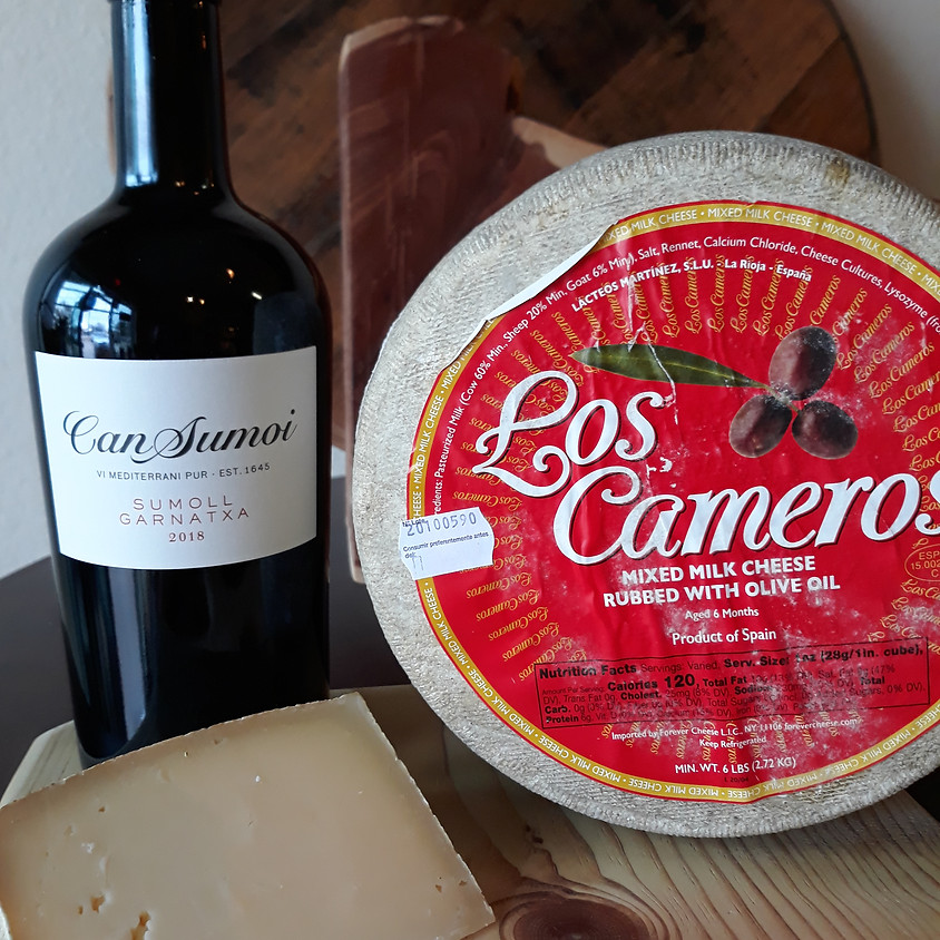 Friday Wine and Cheese Delivery 1/22