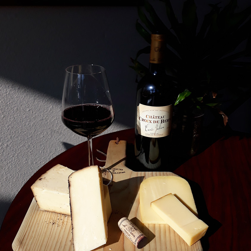 Thursday Wine and Cheese Delivery 9/2