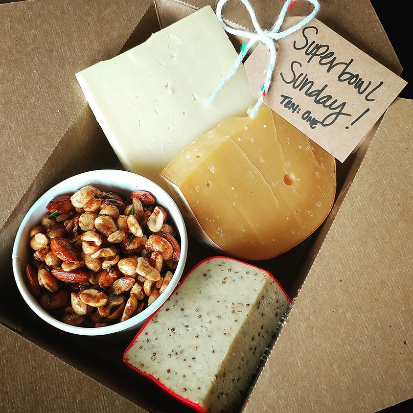 Superbowl Sunday Cheese Box