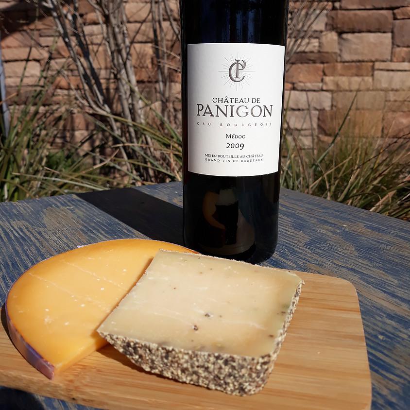Take-home Wine and Cheese Pairing