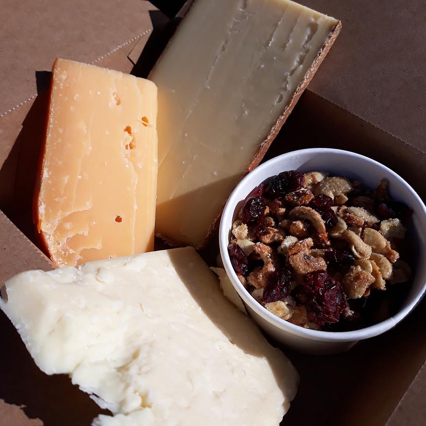 Christmas Cheese Box
