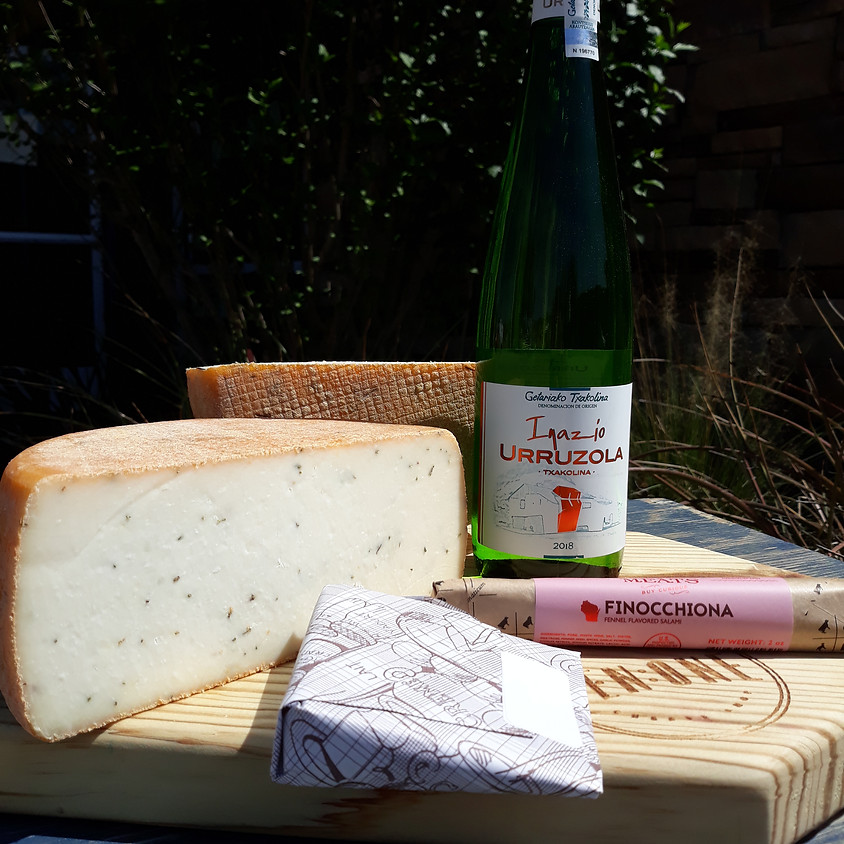 Cheese, Wine, and Charcuterie Delivery Today!