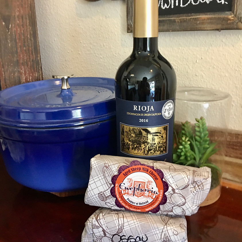 Cheese and Wine Delivery! Thursday 4/9