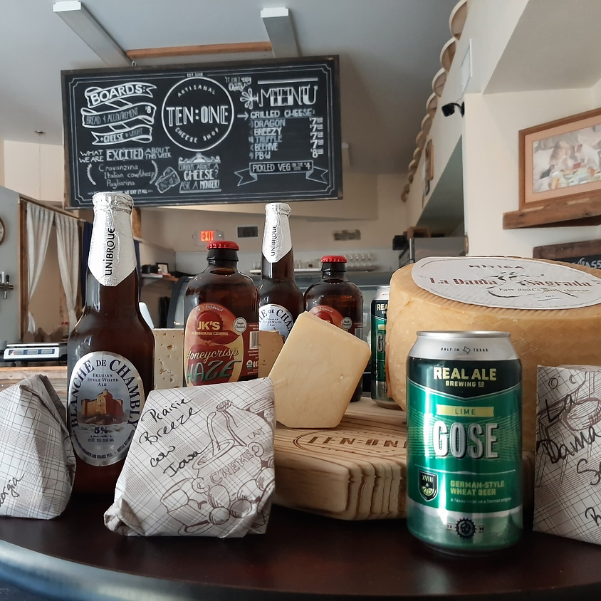 Beer and Cheese Pairing. Delivery!! 4/11