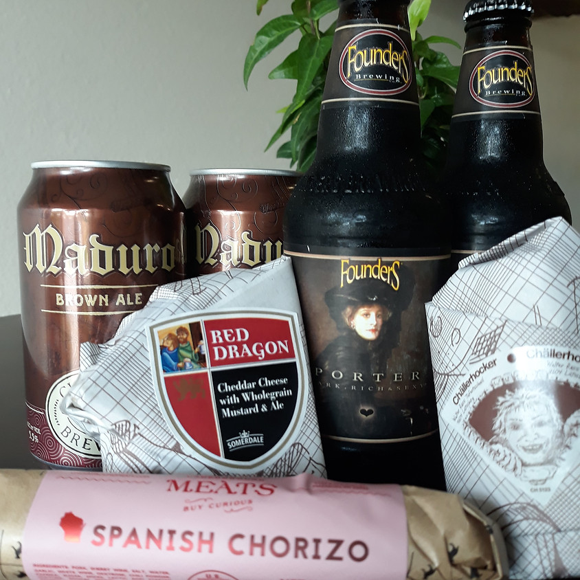 Cheese, Beer, and Charcuterie Delivery TODAY 4/6