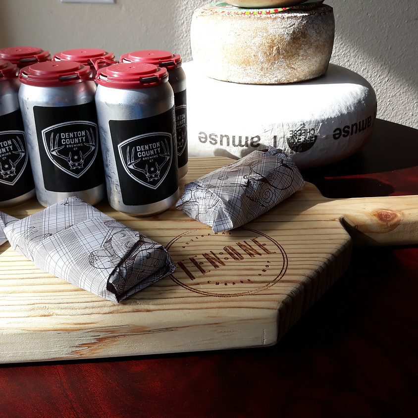Beer and Cheese Pairing- Delivery!! Saturday 4/25