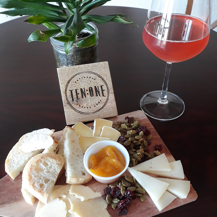 Mimosa and Cheese Pairing at Lucky Lou's