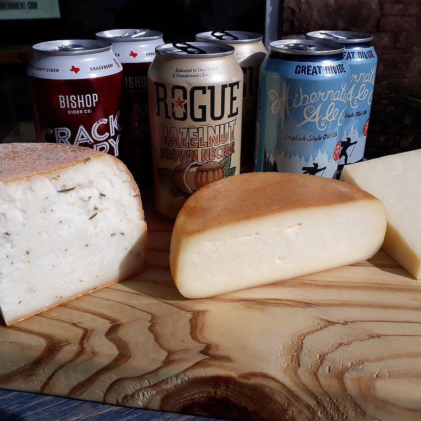 Autumnal Beer and Cheese Pairing!!! 11/21