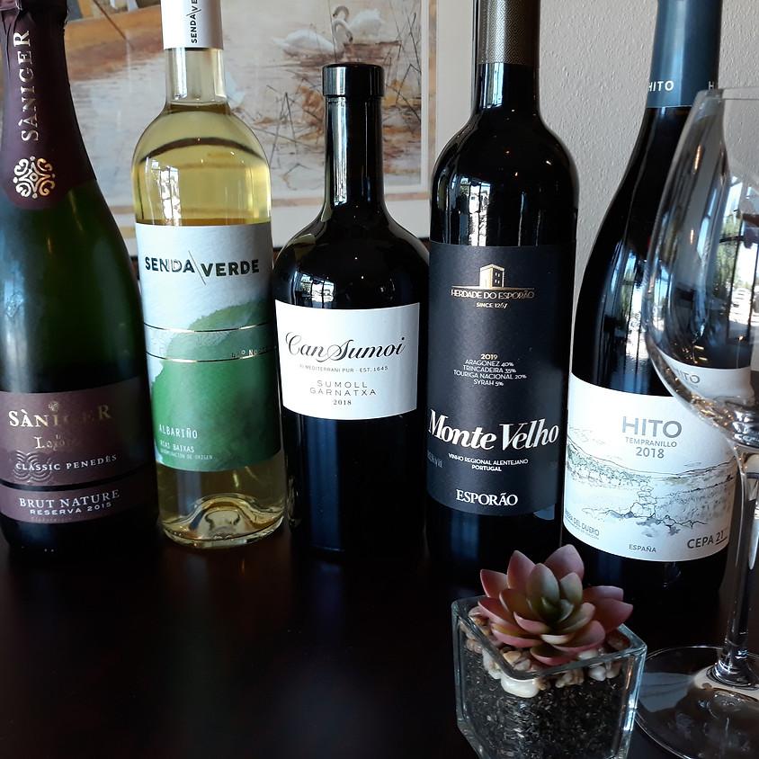 Spanish and Portugese Wine Tasting 10/26