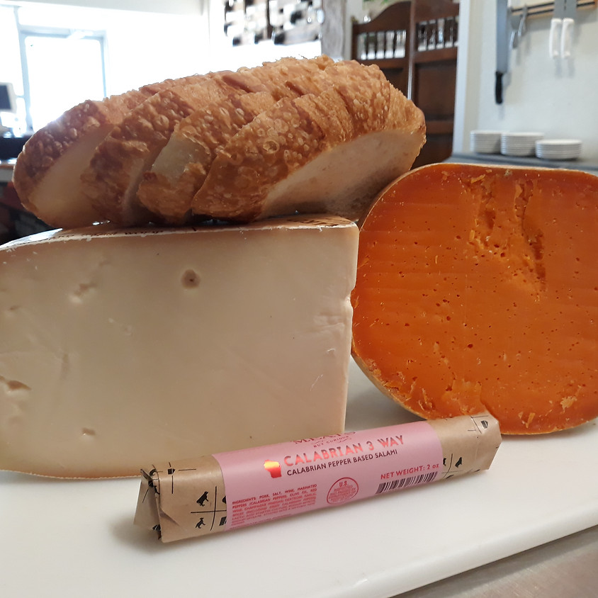 Cheese, Bread, and Charcuterie Delivery 5/19