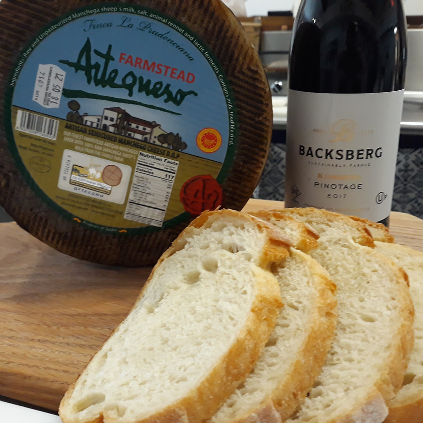 Friday Wine, Cheese, and Bread Delivery 8/7
