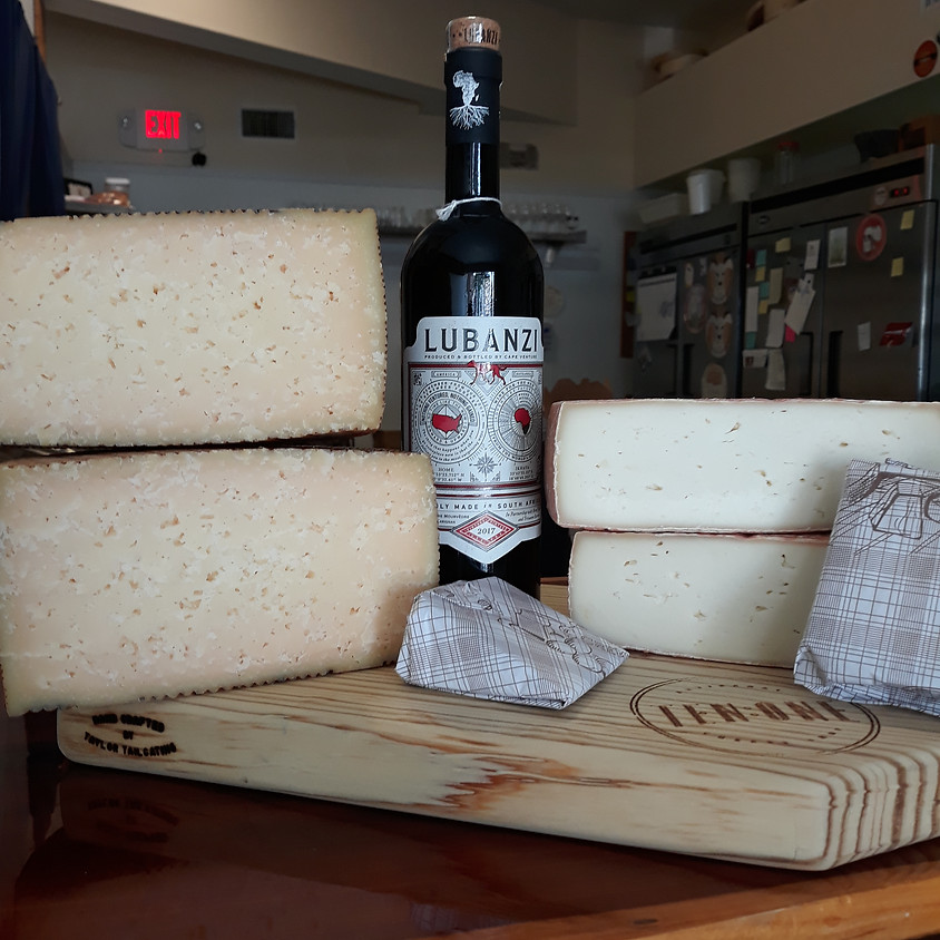 Friday 5/8 Wine and Cheese Delivery!
