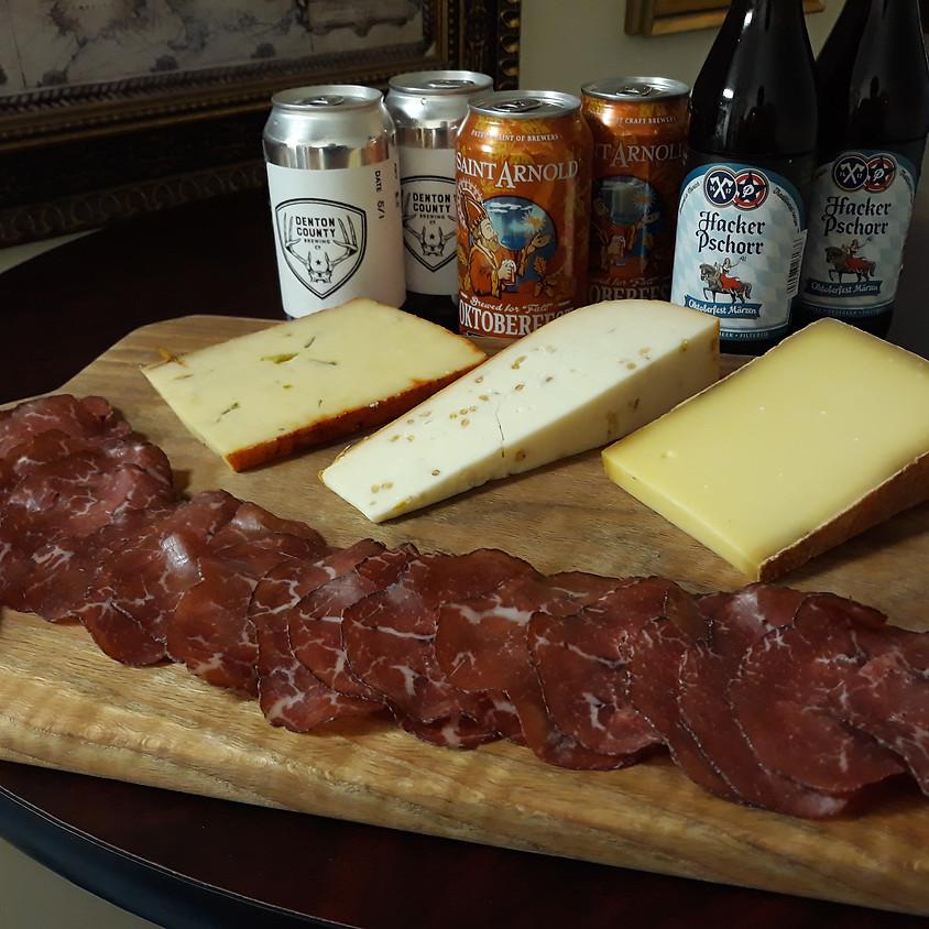 Oktoberfest Beer and Cheese Pairing!!! 9/24