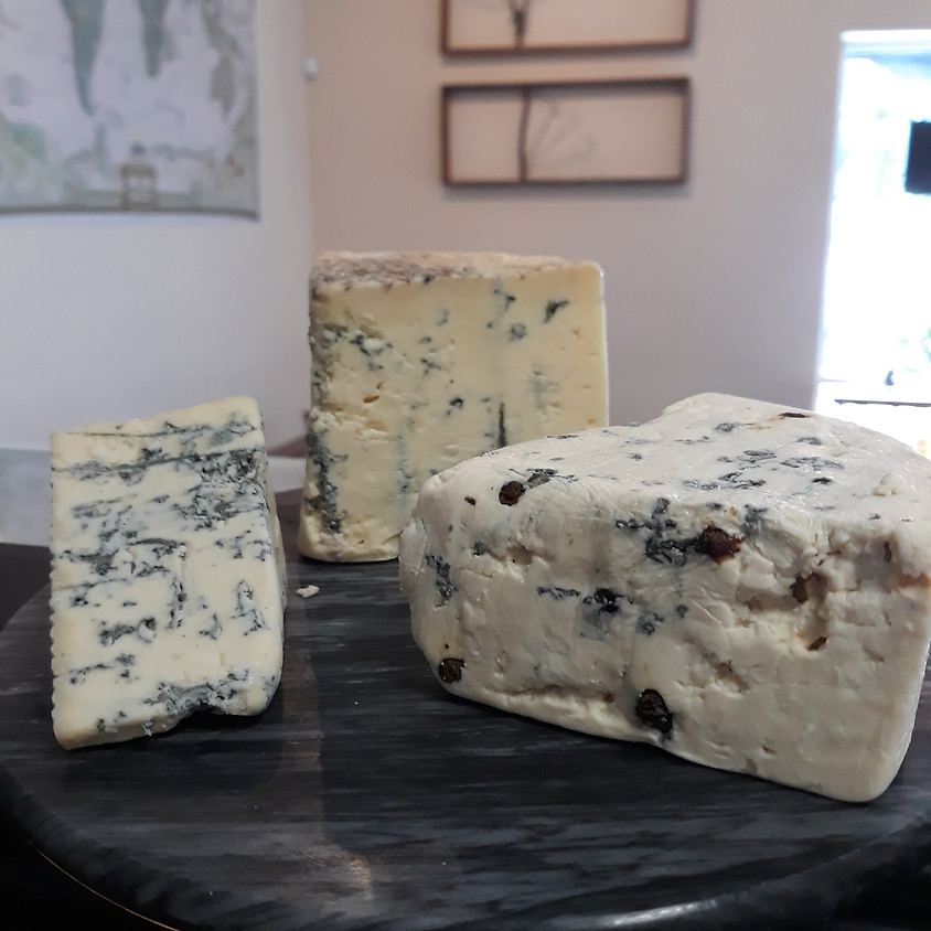 Nothing but the Blues: Blue Cheese Tasting 6/25
