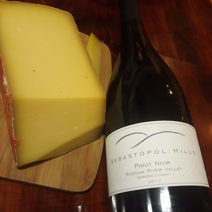 Thursday Wine and Cheese Delivery for Virtual Tasting Friday 11/20